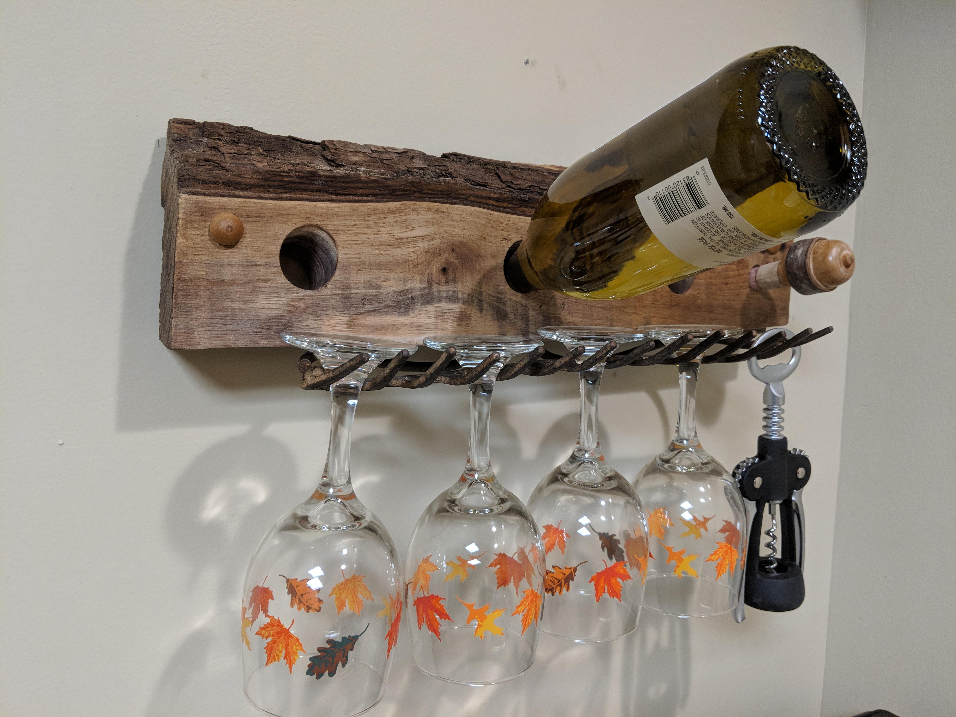 Rake wine rack 1